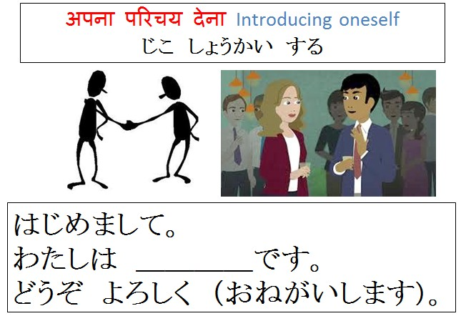 JLPT N5 Self - Introduction