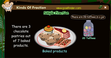 Simple and complex fractions, mixed fractions ,decimal fractions