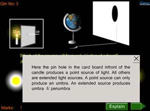 quiz on light :Besides the evaluation, an explanation is always there so that you may clear your doubts immediately